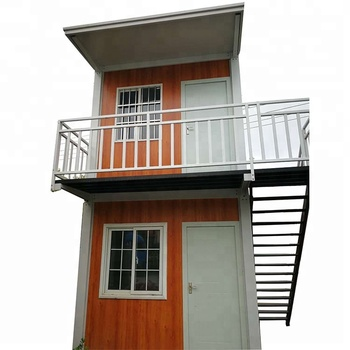 Two Floors Steel Prefab Container House