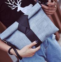 zm33188a fashion simple pu leather women shoulder bag classic envelope evening clutch bag
