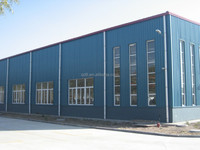 Top quality light frame steel construction factory building