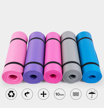 High density ECO-friendly EVA NBR Multi color yoga mat
