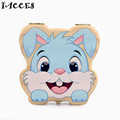 Cute Rabbit Building Toys Baby Tooth Wooden Box Baby Save Milk Teeth And Lanugo Box Great