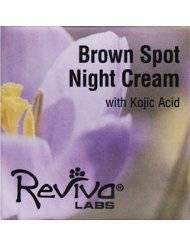Reviva Labs Brown Spot Night Cream W/Kojic Acid 1 Oz Night Creams