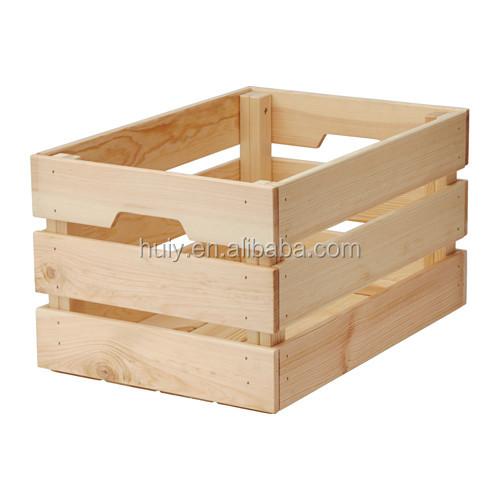 pas cher en bois caisses de fruits pour vente cageots id de produit 60370231819. Black Bedroom Furniture Sets. Home Design Ideas