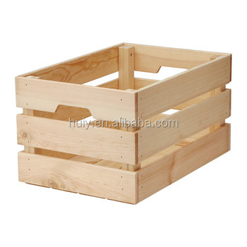 Cheap wooden fruit crates for sale buy wood fruit crates for Where do i find wooden crates