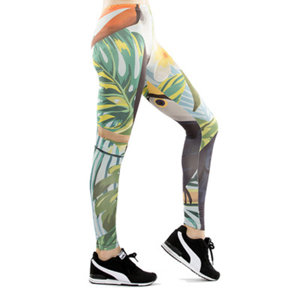 Pantalons de Yoga femmes Collants leggings Sports leggins vêtements de Running Femmes Fitness Genou Découpé legging