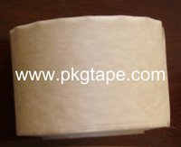 Plain Type 2 sides Brown / White water activated kraft sealing tape for framing, packing