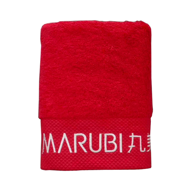 Hot Selling Cotton Custom Never Rub Off Big Bath Towel with logo Embroidery Used in Hotel
