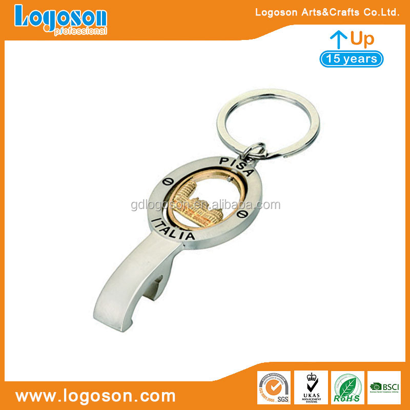 Italy Roma / Barcelona Bottle Opener Souvenir Wholesaler Zinc Alloy Gold Plating Beer Openers Building Bottle Opener