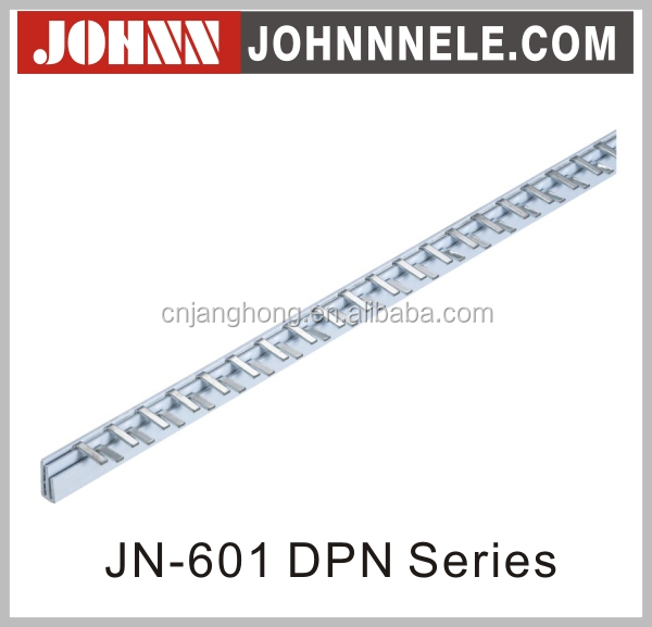 JN-601 DPN Series Customized Red Copper Electric Busbar