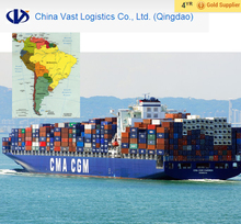Ocean freight sea delivery from beijing ningbo qingdao to Cuba Guatemala south America freight forwarder courier container
