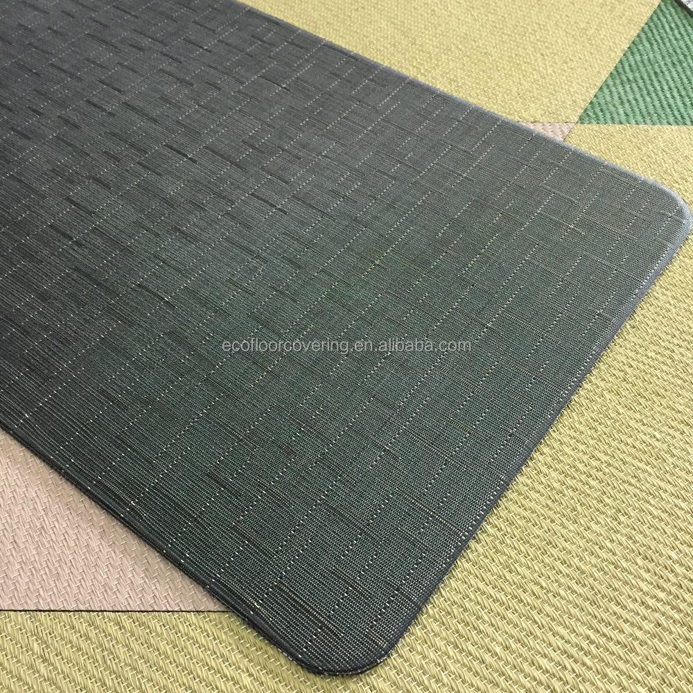 Pvc Woven Floor Mat For Outdoor Rug