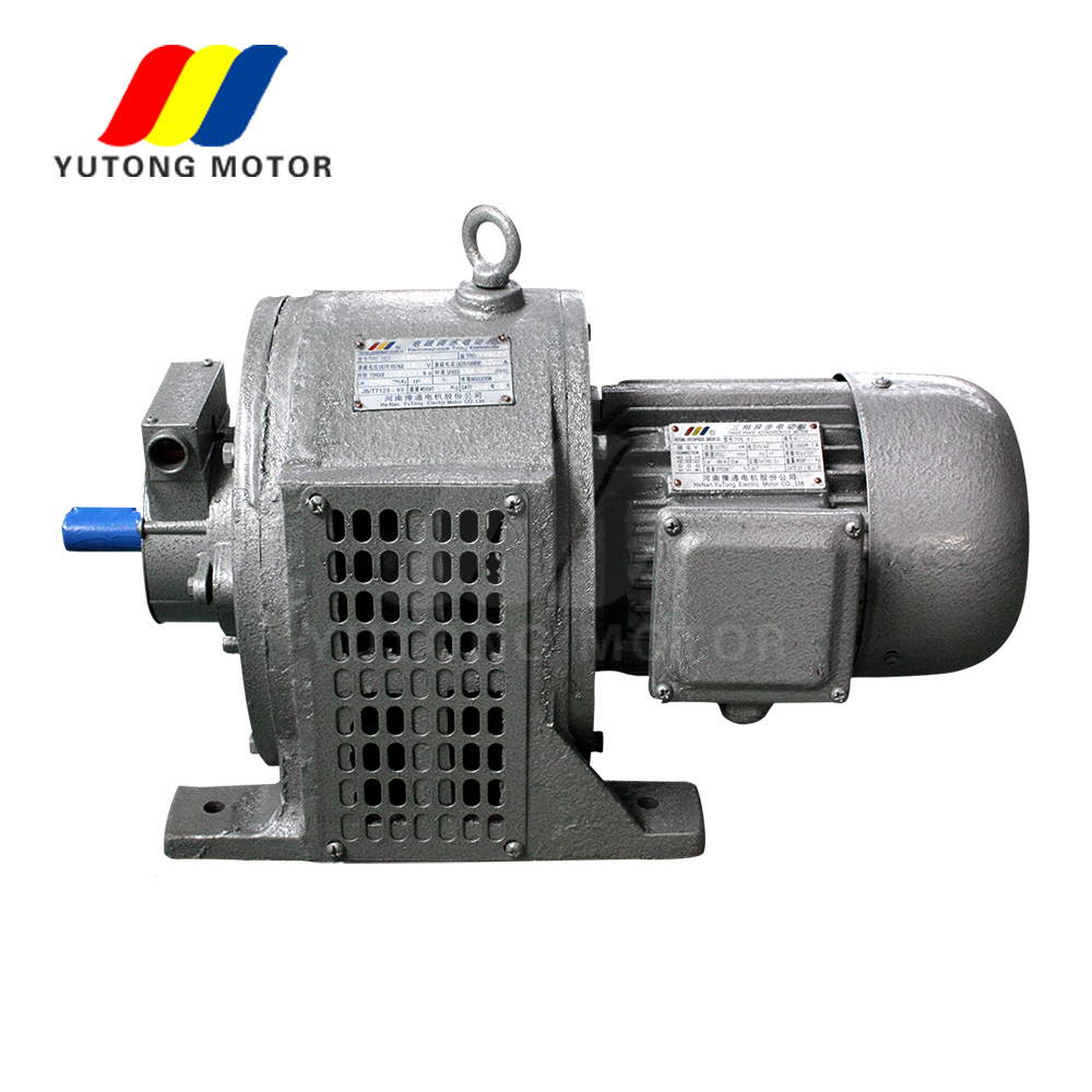 YCT series YCT250-4B three phase speed control 22kw ac electric motor