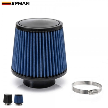 "AUTOFAB Air Filter 3"" 76mm Air Intake Filter Height High Flow Cone Cold Air Intake Performance For Toyota corolla AF-AF001ADS"