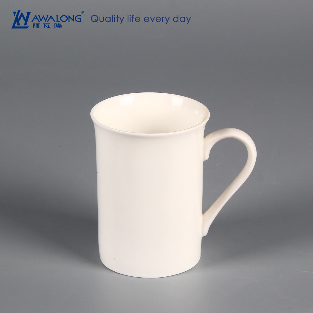 2016 Different shape coffee mugs / ceramic custom printing mug / plain white porcelain cups and mugs