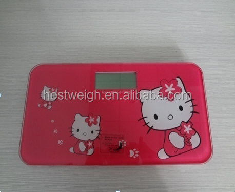 hot selling digtial body scale tempered glass personal DIY weigh scale