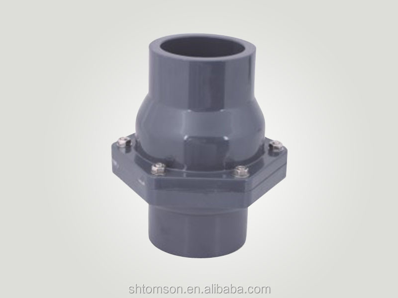 plastic pipe fitting swing check valve