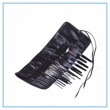 High end 22 pcs private label natural hair makeup brush set