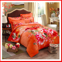 Luxury comforter sets wedding bedding set cotton bed linen set manufacturer in China