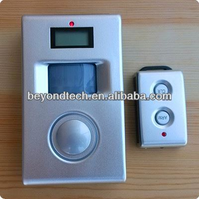 Sending Sms Alarm Message Solar Motion Alarm with Remote Control,Solar Panel