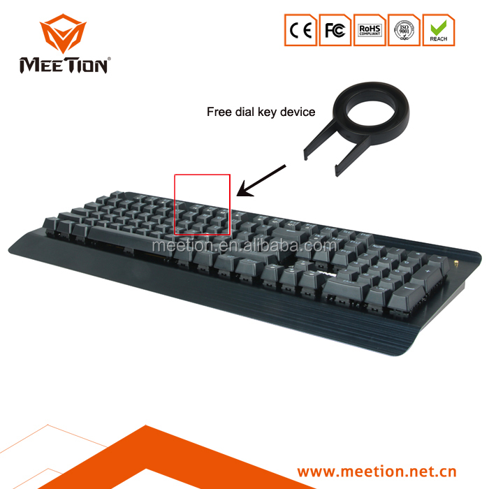 MEETION Multimedia Mechanical Gaming the Keyboard RGB