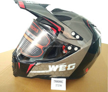 Dirt bike motocicleta motocross casco ABS CE/dot venta entera fabricación