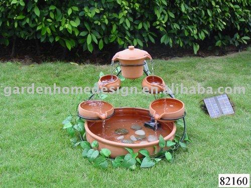 Tetera de cer mica jard n fuente productos de piedra para for Articulos para jardin