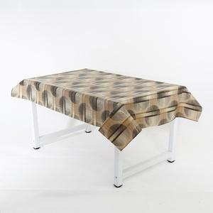 Transparent printed pvc cheap table cloth