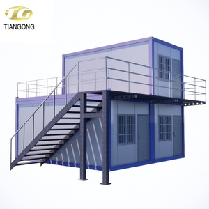 Sandwich Panel Material and Hotel Use prefab villa