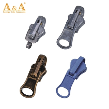High Quality Clothing Home Textile Metal Zipper Slider Customize Personalized Zipper Pulls Head Buy Customize Zipper Pull Head Personalized Zipper