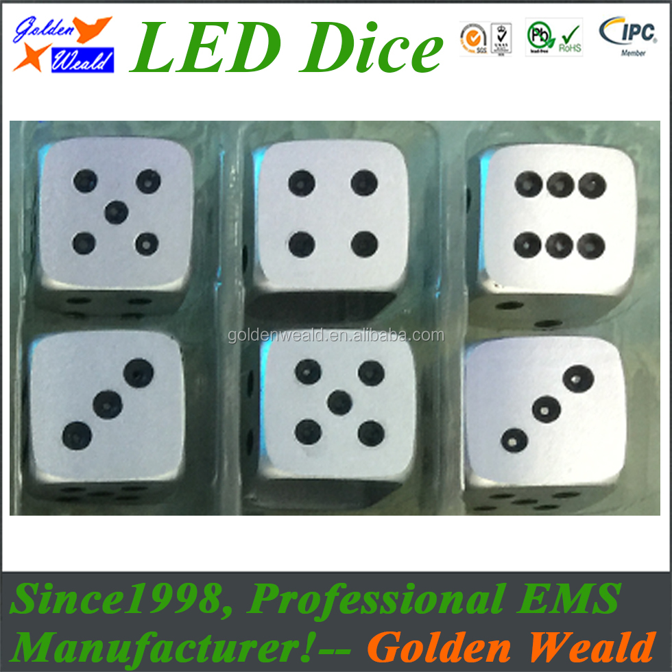 16MM rounded color dice/Toy accessories export/Dice manufacturers stationed in the Alibaba