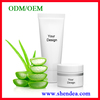 ODM/OEM private label pure herbal after sunburn moisturizing calming moisten skin face natural aloe skin gel