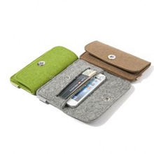 Low price felt mobile phone cover with different size