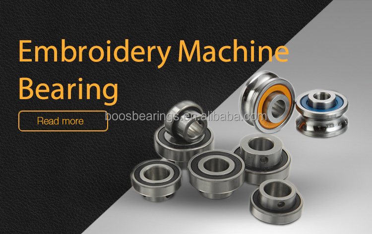 High Quality R3 red seal Red U bearing embroidery machine bearing U groove bearing