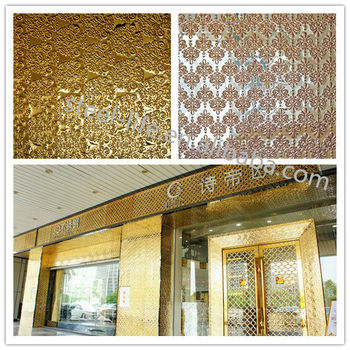Modern Stainless Steel Decorative Material Wall Decoration 3d Board