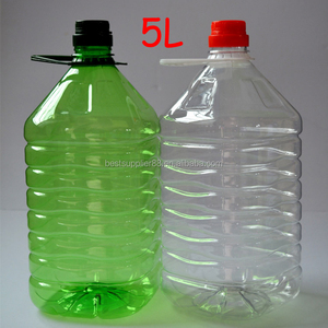Large empty food grade PET plastic bottle wholesale for Canola Rapeseed Oil Extraction Cooking oil