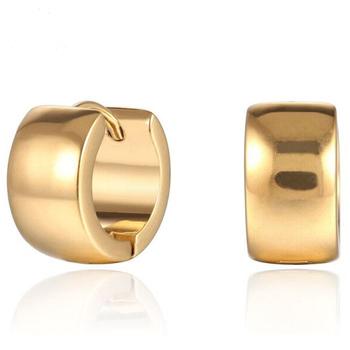 Hot 24kt Men S Design Picture Of Gold Earring Jewellery Ethnic Arabic Hip Hop Self Piercing