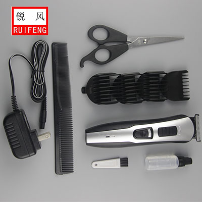 efficient actue angle blade plug -and -play adjustable comb Grooming set/manual Hair trimmer