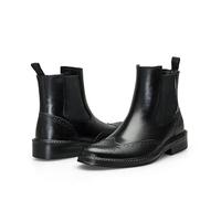 Chinese wholesaler fashion durable motorcycle boot mens rain boots