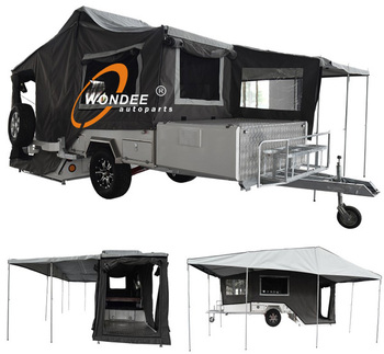 Travel Trailer Mini Camper Trailer Tent