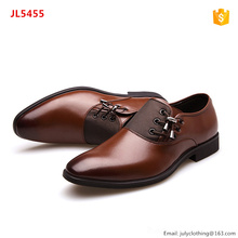 Autumn Cool Lace Side Men Business Official Dress Shoes with Large Big Size