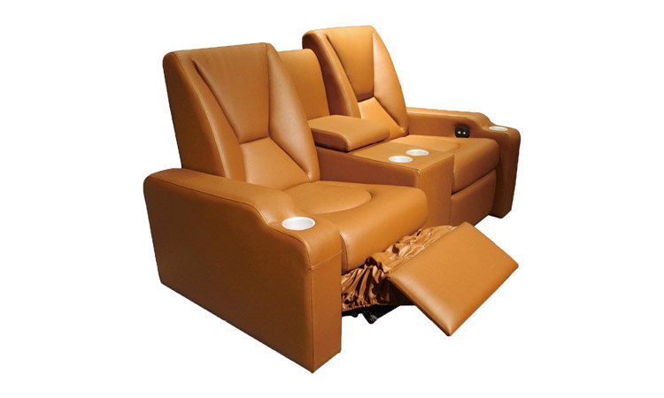 Cinema theater furniture leather movie chairs in home theater seating