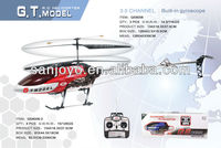 QS8006 GYRO 3.5 Channel 3.5CH Metal RC Helicopter GT Model FREE PARTS