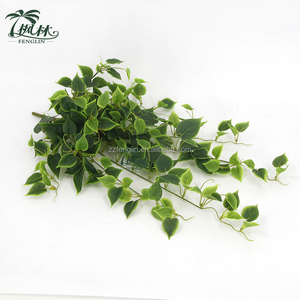 Wall Hanging Decor Plastic Artificial Leaves Garland