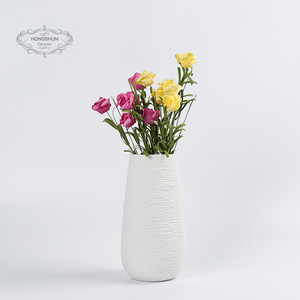 Ceramic Modern Home Decor Vase- Geometric Art Vases -3d Printed Vases