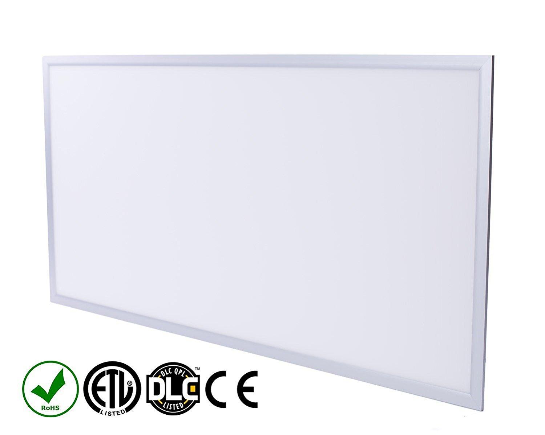 StudioPRO Office Industrial Home Energy Saving LED Light Panel Fixture Ultra Thin Bright 4000K 55W - 2 x 4 feet