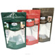 Stand up food pouch packaging /food zipper packing bag/plastic and mylar silver foil bag