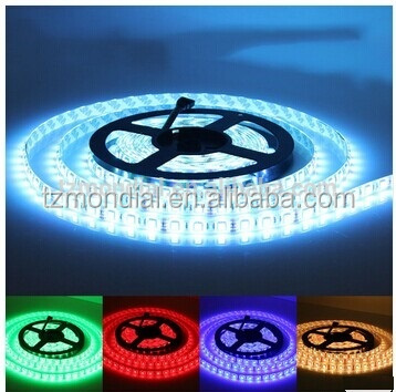 China Shenzhen factory high light 12V/24V flexible addressable rgb 5050 led strip light for indoor