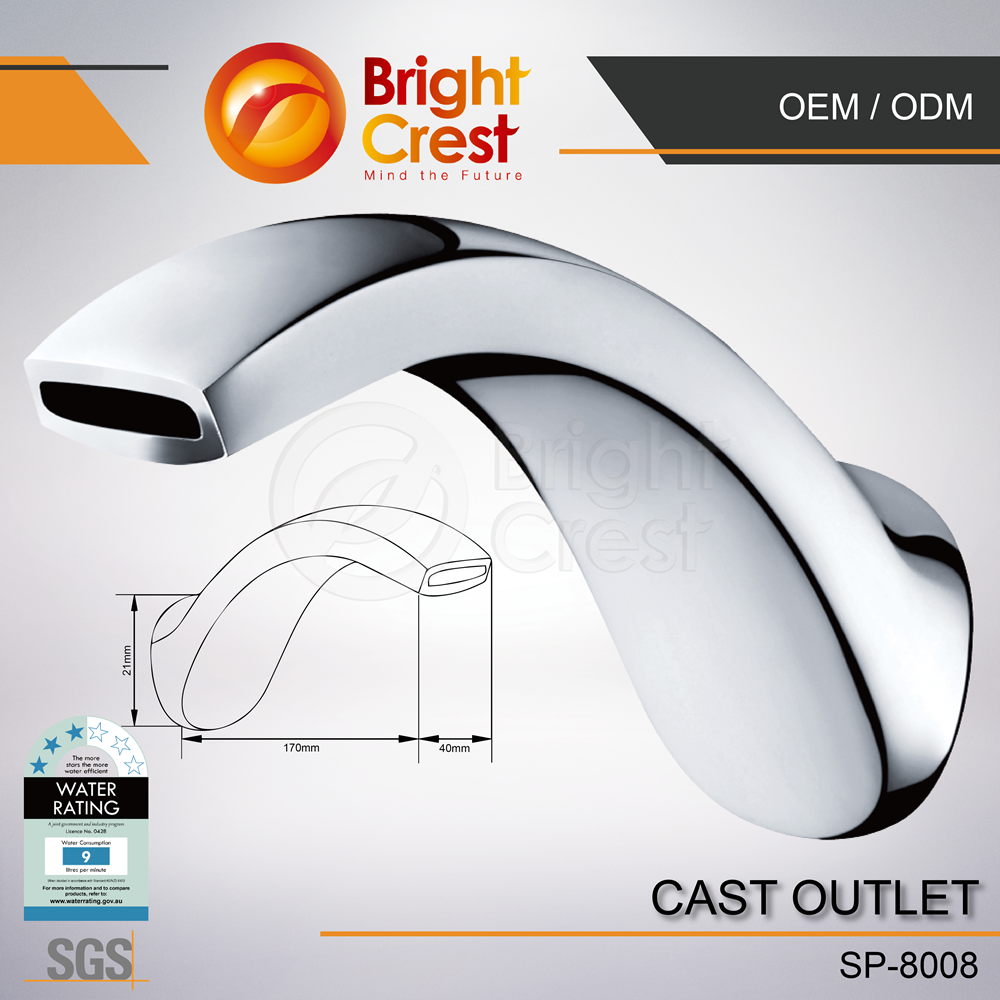 popular 5-hole germanium bidet faucet for hotel