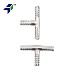 Hose Barb Tee 3-Way Connector Fittings 8mm y tee pipe fitting