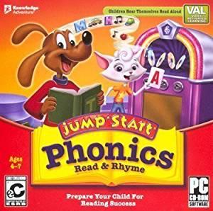 JumpStart Phonics - Read & Rhyme (Please see item detail in description)